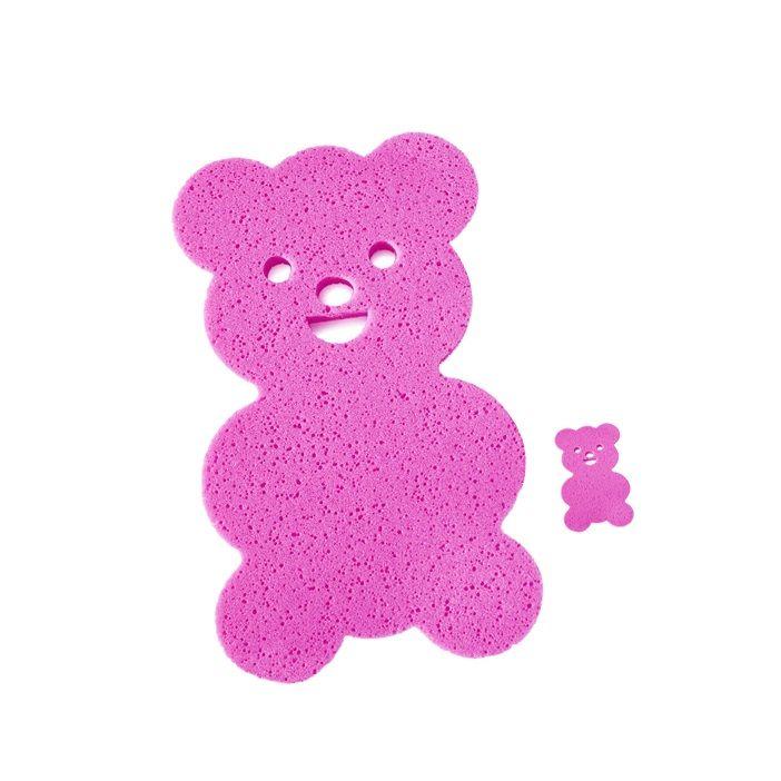 Espuma Urso Antiderrapante Banheira Borin