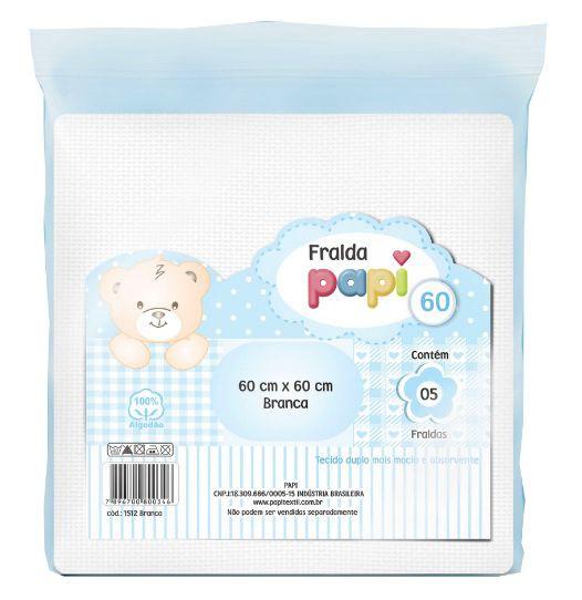 Kit Fralda de Pano Lisa Papi