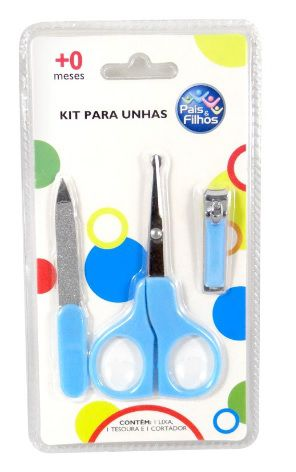 Kit Para Unhas Higiene Pais E Filhos