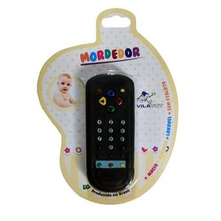 Mordedor Controle Remoto Vila Toy (+ 2 Meses)