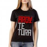 Camiseta ARQUITETURA preta