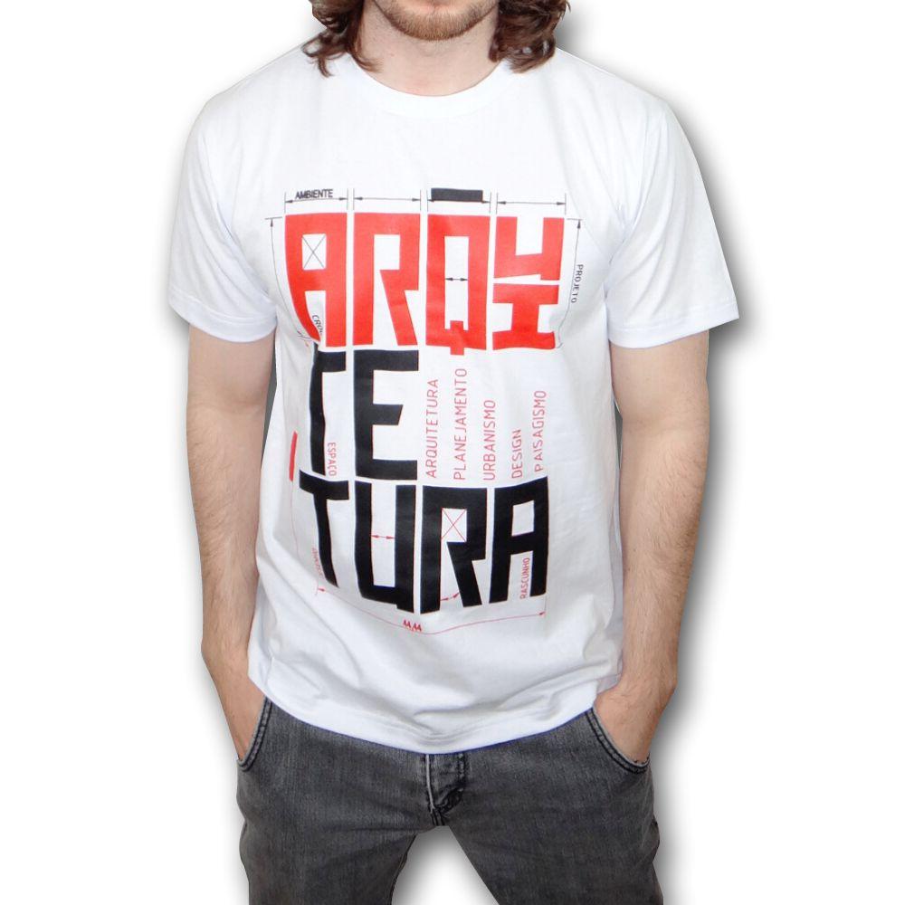 Camiseta ARQUITETURA branca