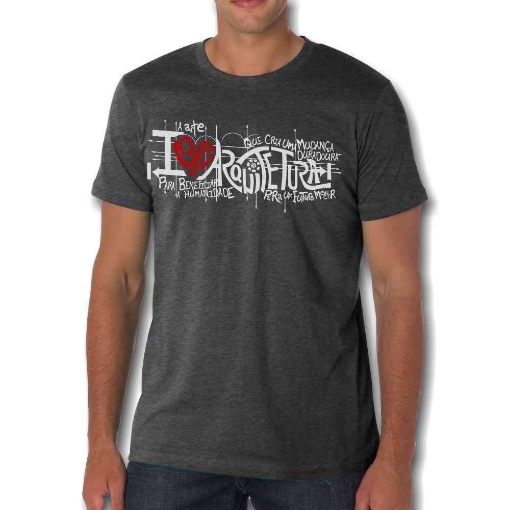 Camiseta I LOVE ARQUITETURA