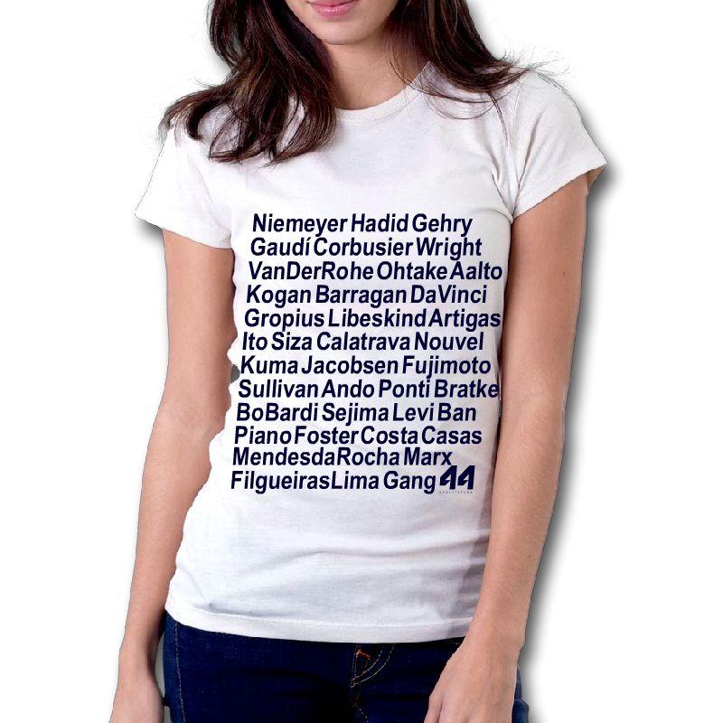 Camiseta Ídolos da Arquitetura