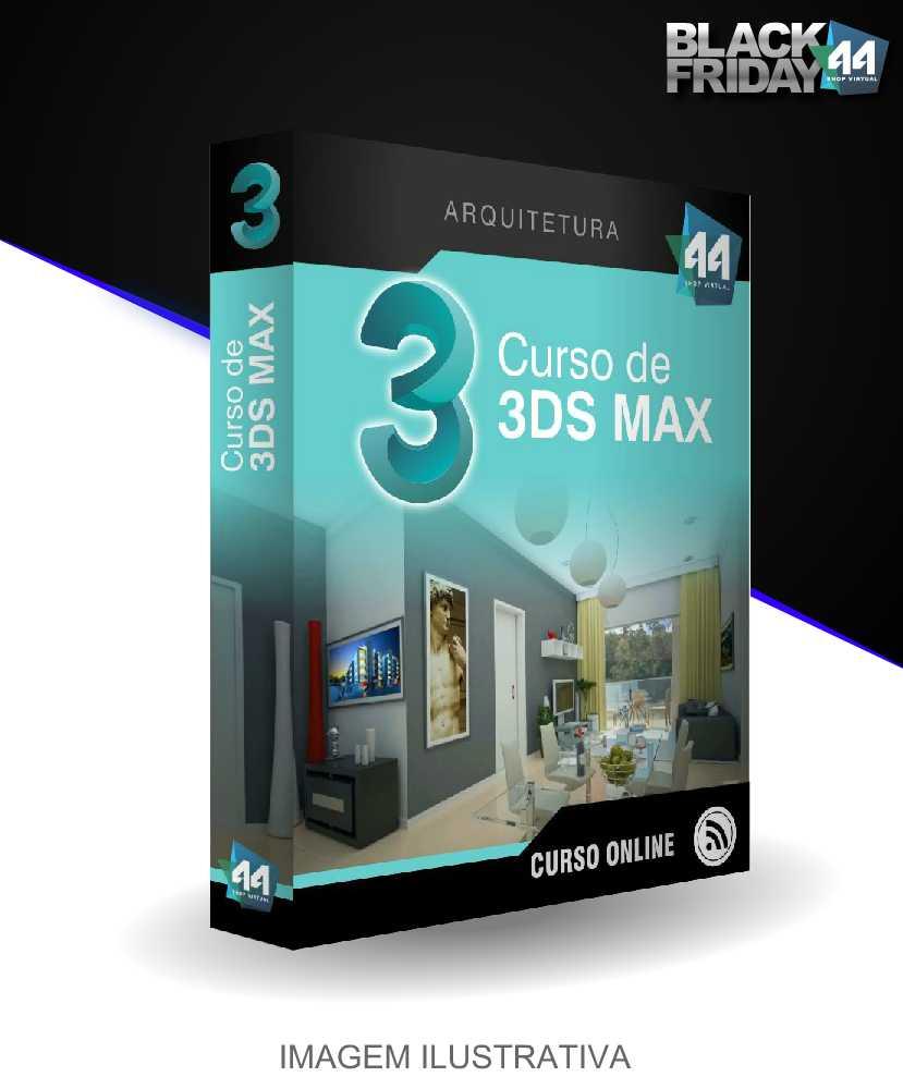 CURSO COMPLETO DE 3D STUDIO MAX PARA ARQUITETURA