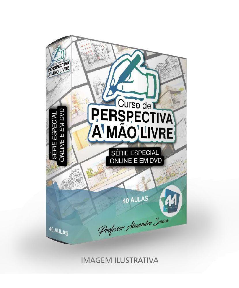 CURSO DE DESENHO À MÃO LIVRE PARA ARQUITETOS - DO INICIAL AO AVANÇADO