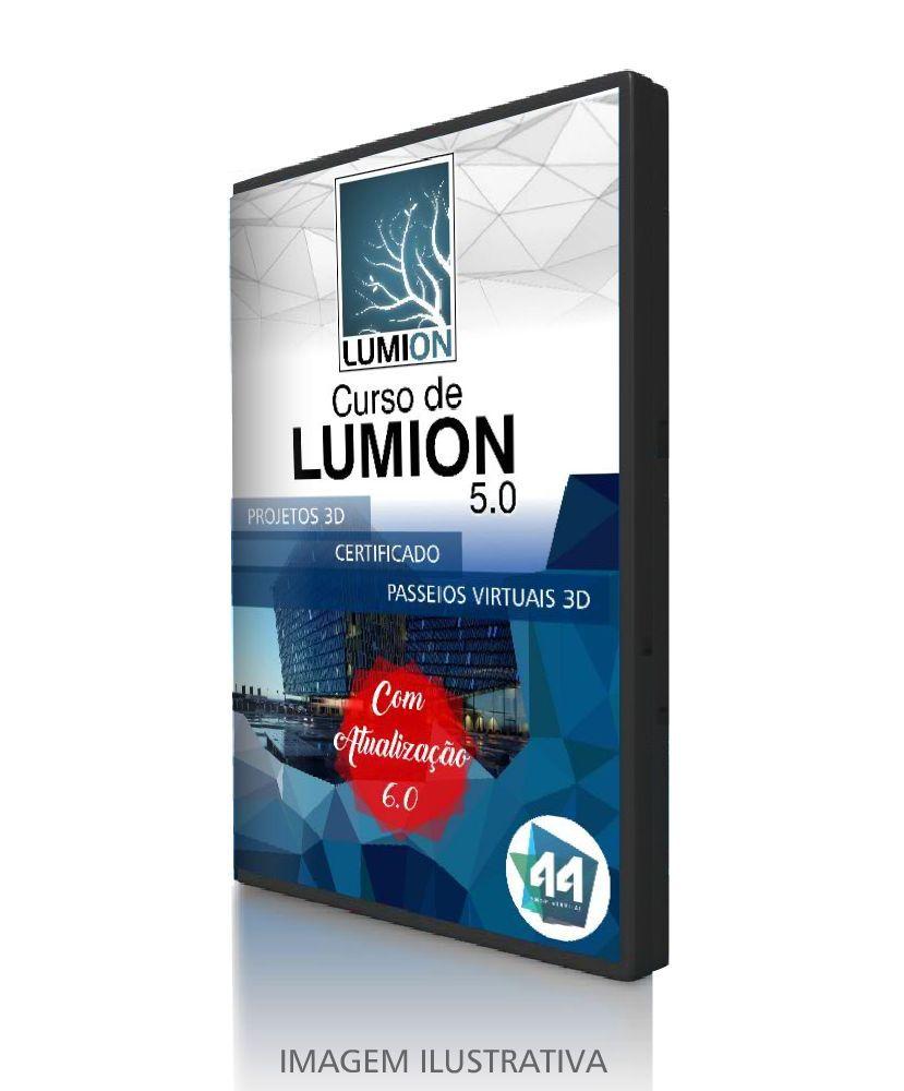 CURSO COMPLETO DE LUMION 3D 5.0 e 6.0