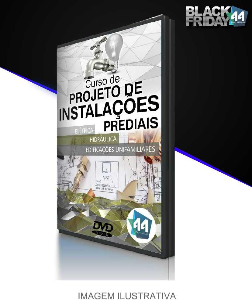 Curso de Instalações Prediais em CAD - Projetos Elétricos e Hidráulicos
