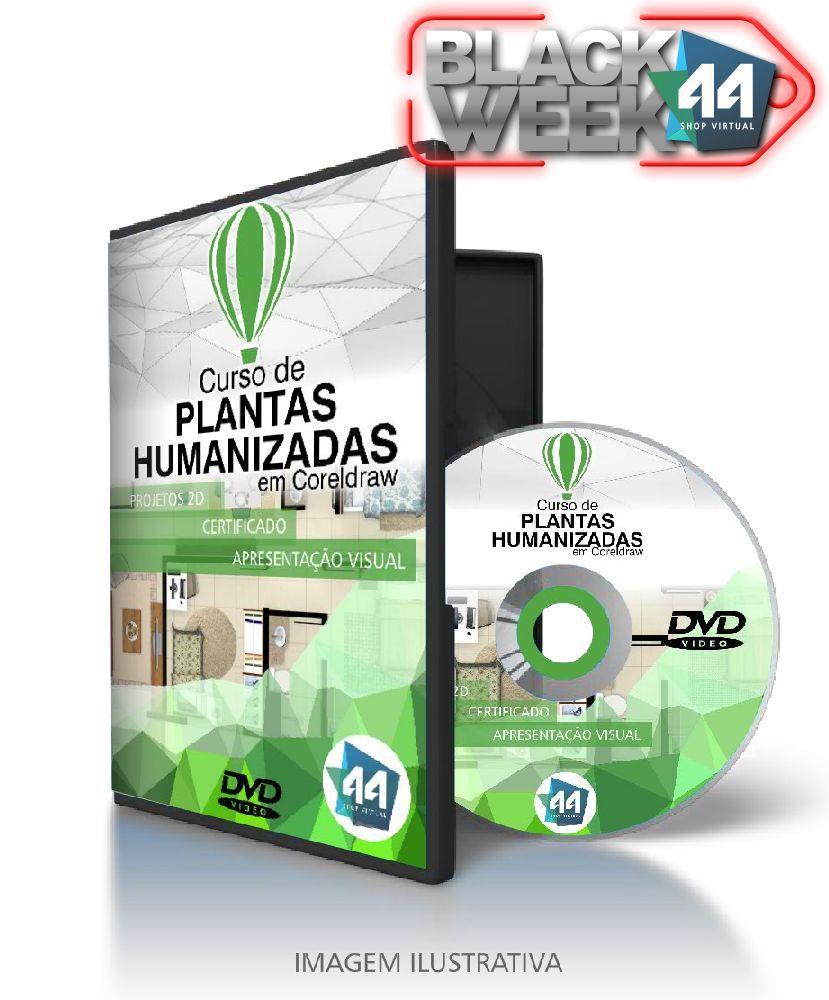 Curso de Plantas Humanizadas em CorelDRAW