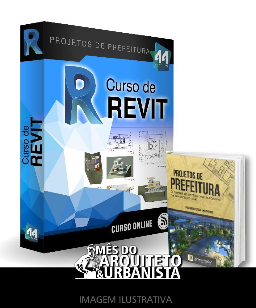 CURSO DE REVIT ARQUITETURA 2020 + E-BOOK