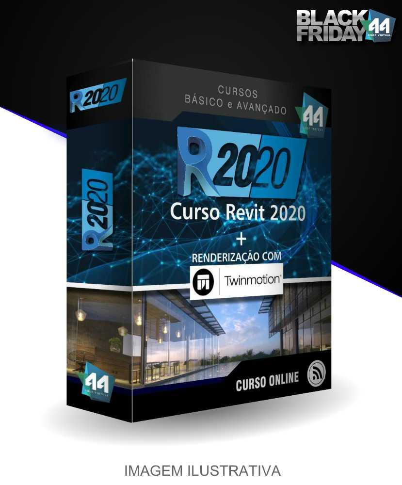 CURSO REVIT 2020 BÁSICO E AVANÇADO COM RENDER EM TWINMOTION