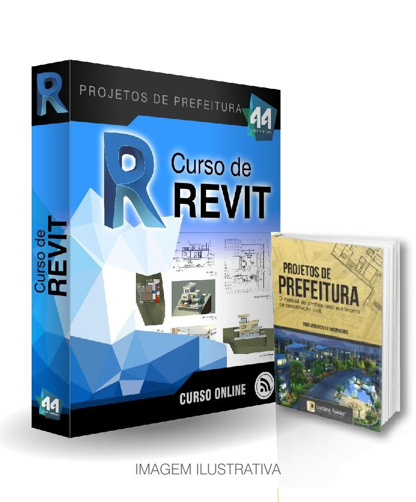 CURSO DE REVIT ARQUITETURA + E-BOOK