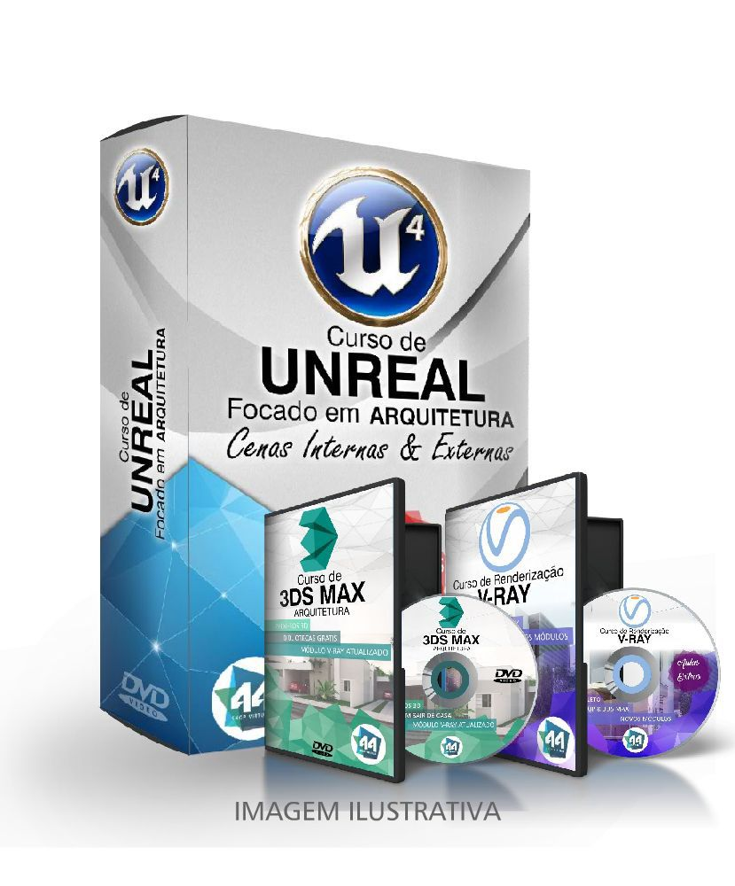 CURSO UNREAL ARQUITETURA + CURSO 3DSMAX E VRAY - 44arquitetura ... 6c58e518910