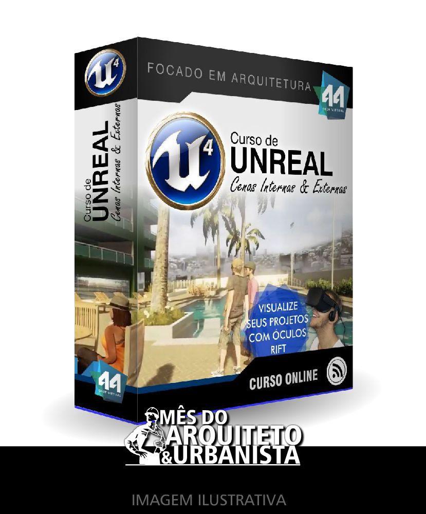 CURSO UNREAL ARQUITETURA + CURSO 3DSMAX E VRAY