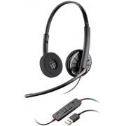 Fone Headset Plantronics C320-M BlackWire Microsoft USB