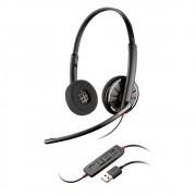 Headset Plantronics Fone Blackwire USB - C320-M