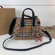 BOLSA BURBERRY BABY BANNER CHECKED CROSS BODY 10443