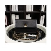 BOLSA CHANEL A32258 GRAIN LEATHER FLAP BAG