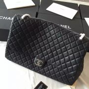 BOLSA CHANEL CALFSKIN XXL LARGE CLASSIC FLAP BAG A91169