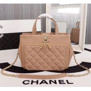BOLSA CHANEL CC GRAINED CALFSKIN SHOPPING A93794