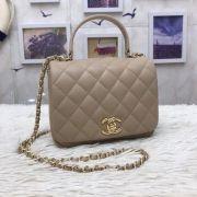 BOLSA CHANEL LAMBSKIN FLAP BAG WITH TOP HANDLE A57069