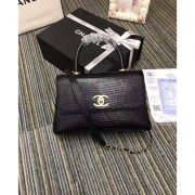 BOLSA CHANEL LIZARD TOP HANDLE FLAP BAG A93050