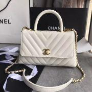 BOLSA CHANEL SMALL FLAP BAG TOP HANDLE A92990