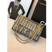 BOLSA CHANEL TWEED FLAP BAG A69900