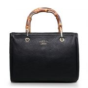 BOLSA GUCCI BAMBOO SHOPPER LEATHER