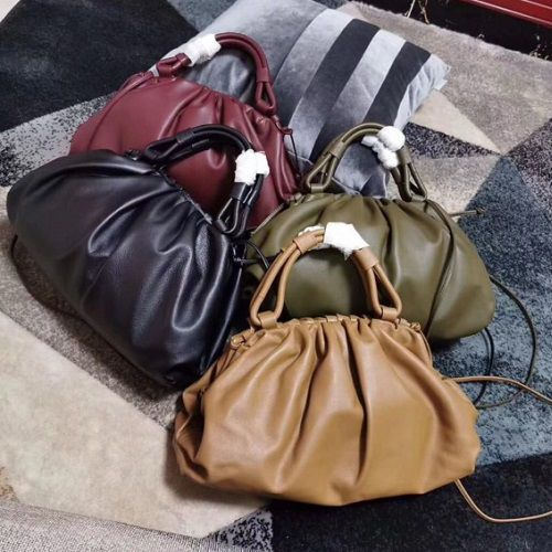 BOLSA BOTTEGA VENETA SHEEPSKIN WEAVING BV3694