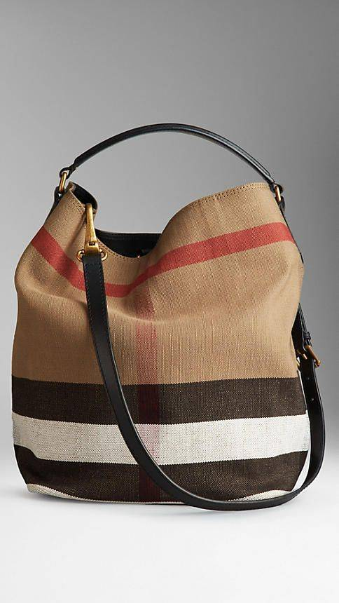 BOLSA BURBERRY CHECK HOBO