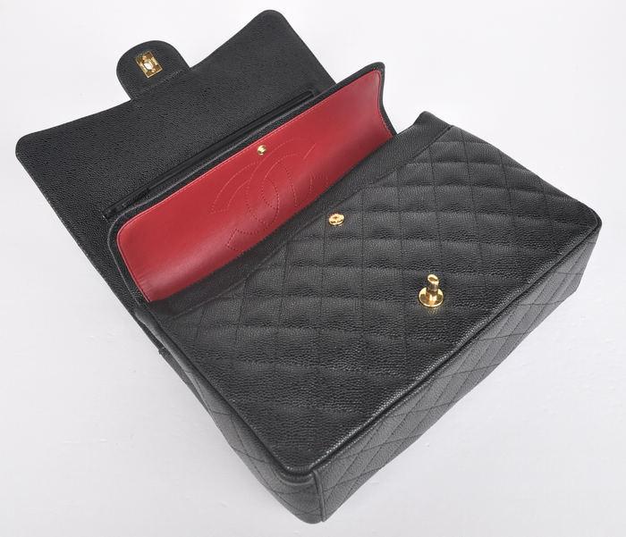 Bolsa Chanel 2.55 Caviar