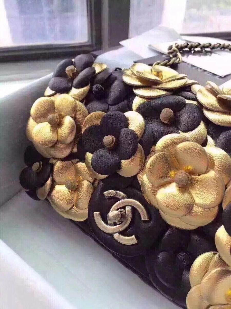 Bolsa Chanel 2.55 floral