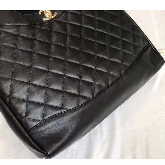 Bolsa Chanel Calfskin shopping bag A57977