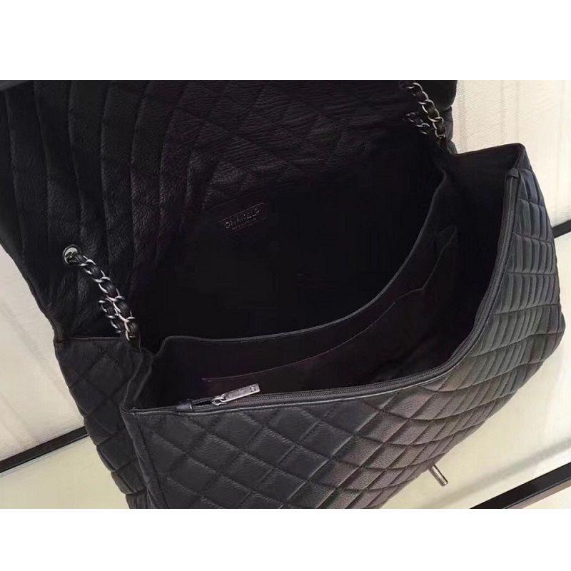 BOLSA CHANEL CALFSKIN XXL LARGE CLASSIC FLAP BAG A91169