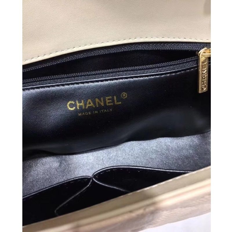 BOLSA CHANEL CANNAGE PATTERN SHOULDER BAG 66870