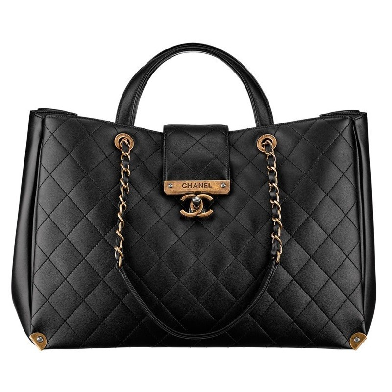 Bolsa Chanel ch-ruth black A93518
