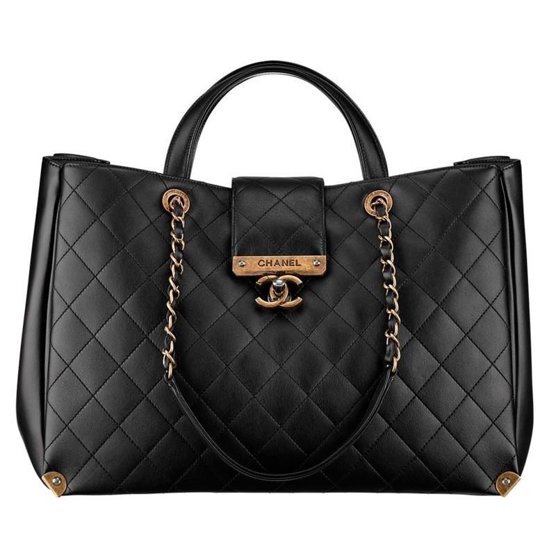 Bolsa Chanel ch-ruth black A93518
