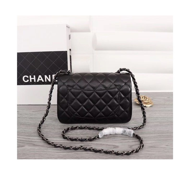 BOLSA CHANEL CLASSIC SHEEPSKIN LEATHER CROSS-BODY A1116