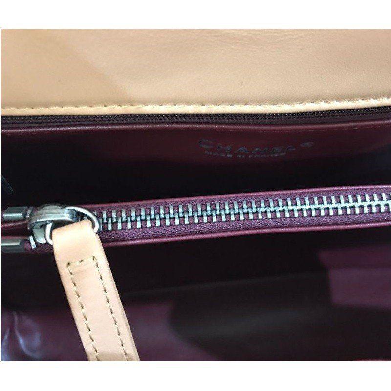 Bolsa Chanel Coco Lizard Grained Flap Handle A92992