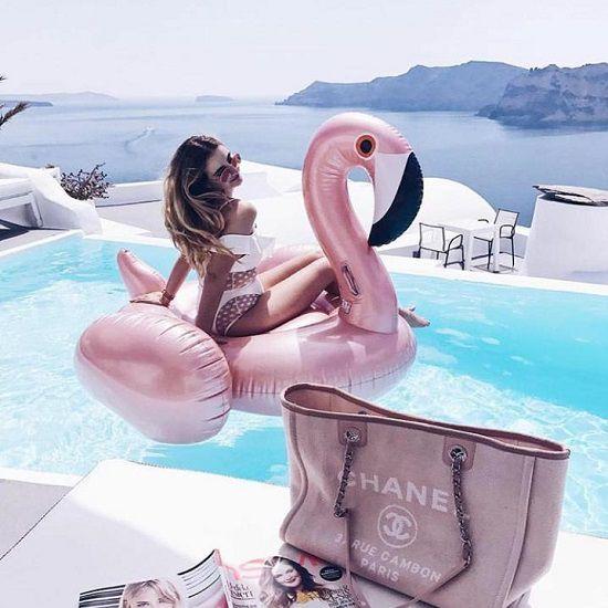 Bolsa Chanel Deauville