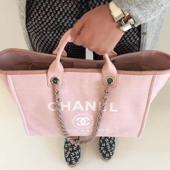 0667882946ff65 ... Bolsa Chanel Deauville - MANIA DE GRIFE ...