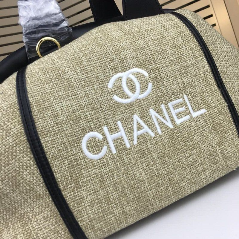 BOLSA CHANEL DEAUVILLE LEATHER SHOULDER BAG