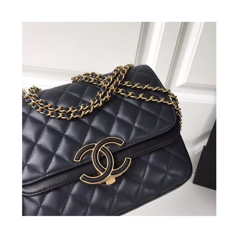BOLSA CHANEL FLAP BAG LAMBSKIN A57277