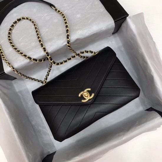 BOLSA  CHANEL FLAP LAMBSKIN LEATHER SHOULDER BAG 57431