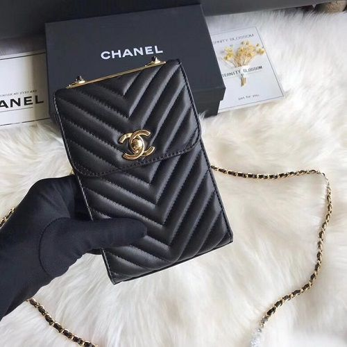 BOLSA  CHANEL FLAP MOBILE PHONE BAG 55698