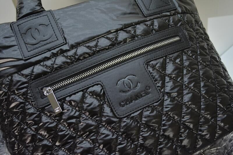 Bolsa Chanel French Coco Cocoon Couro