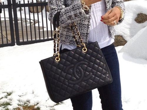 5db8661f7 ... Bolsa Chanel Grand Shopper Tote - MANIA DE GRIFE ...