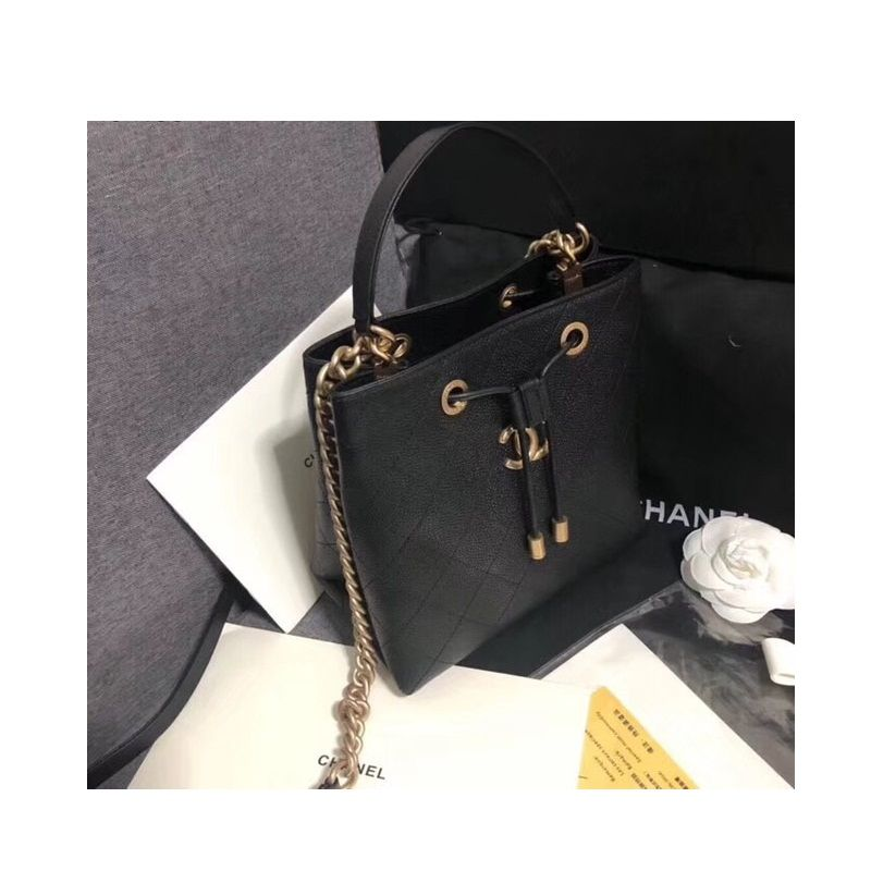 BOLSA  CHANEL DRAWSTRING BAG AS0310