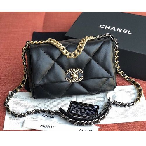 BOLSA CHANEL LAMBSKIN FLAP BAG AS1160